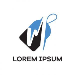 M letter logo design. Letter m in sale/discount tag vector illustration.
