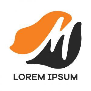 M letter logo design. Letter m vector illustration.