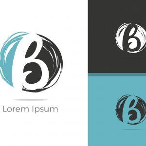 B Logo, B Logo Design, Initial B Logo, Circle B Logo, Real Estate Logo