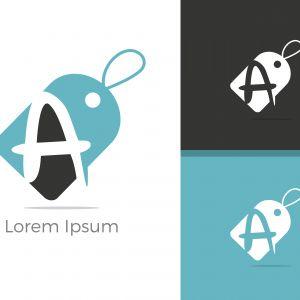 A Logo, A Logo Design, Initial A Logo, Circle A Logo, Real Estate Logo, Letter A Logo,