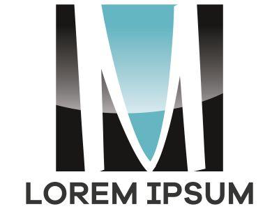 M letter logo design, Letter M in beautiful shape vector illustration