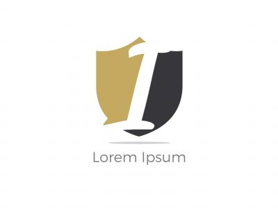 I Letter Logo Design. Letter I Logo Design with Hexagon. I Logo vector, Icon design,