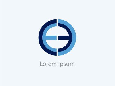 EO, EC letters logo, C and E letters logo alphabet design