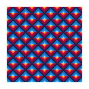 Colorful Logo Pattern design Vector Background.