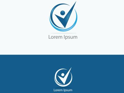 Job search icon with magnifying glass, Choose people for hire symbol. Job or employee logo, Recruitment agency vector illustration.