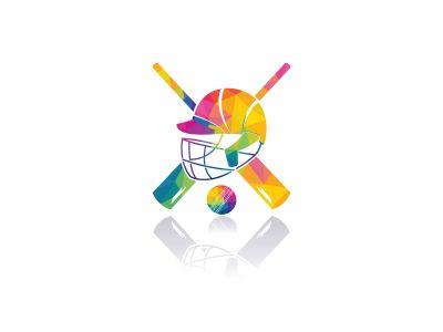 Cricket Team vector logo design. Cricket championship logo. modern sport emblem. vector illustration.