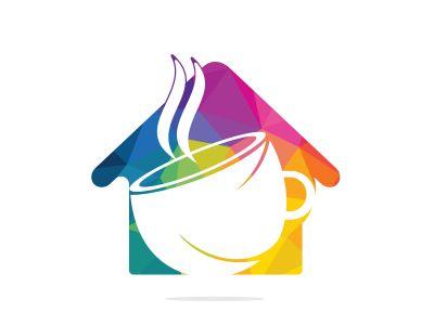 Coffee House Logo Design. Coffee shop logo design template vector.
