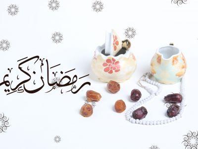 Ramadan Mubarak ,Poster, Flyer, Brochure, Design photography on white background.